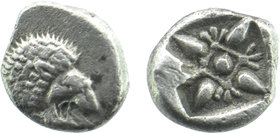 IONIA. Miletos. Ca. late 6th-5th centuries BC. AR obol