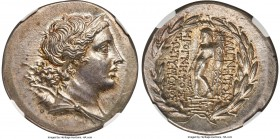 IONIA. Magnesia ad Meandrum. Ca. mid-2nd century BC. AR tetradrachm (31mm, 16.90 gm, 12h). NGC Choice AU S 5/5 - 5/5. Herognetos, son of Zopyrionos, m...