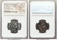 MACEDONIAN KINGDOM. Alexander III the Great (336-323 BC). AR tetradrachm (25mm, 17.22 gm, 11h). NGC AU S 5/5 - 5/5. Lifetime or early posthumous issue...