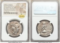 ATTICA. Athens. 2nd-1st centuries BC. AR tetradrachm (31mm, 16.76 gm, 12h). NGC AU 5/5 - 4/5. New Style coinage, ca. 94/3 BC, Nikogenes, Andreas and K...