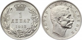Serbia 1 Dinar 1912 