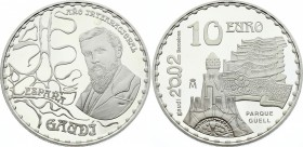 Spain 10 Euro 2002 