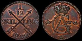 Sweden 1/12 Skilling 1802 