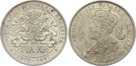 Sweden 2 Kronor 1897 