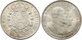 Sweden 2 Kronor 1907 