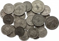 Turkey Lot of 23 Coins 1910 - 1921