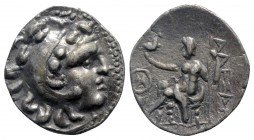 Eastern Europe. Imitations of Alexander III of Macedon . Imitations of Alexander III and his successors circa 300 BC. Drachm AR