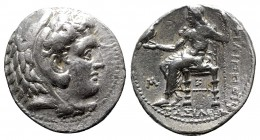 Kings of Macedon. 'Babylon'. Philip III Arrhidaeus 323-317 BC. In the types of Alexander III of Macedon. Tetradrachm AR