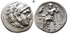 Kings of Macedon. Magnesia ad Maeandrum. Philip III Arrhidaeus 323-317 BC. In the types of Alexander III. Struck under Menander or Kleitos, circa 323-...