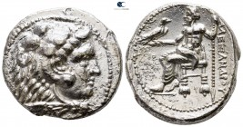 Kings of Macedon. Tyre. Philip III Arrhidaeus 323-317 BC. In the name and types of Alexander III. Struck under Laomedon. Uncertain date. Tetradrachm A...