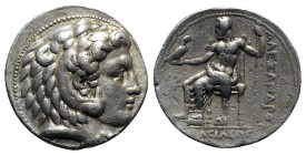 Kings of Macedon. Uncertain mint in Cilicia. Philip III Arrhidaeus 323-317 BC. In the name and types of Alexander III. Struck under Philotas or Philox...