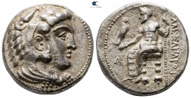 "Kings of Macedon. Arados. Alexander III ""the Great"" 336-323 BC. Struck under Menes, circa 325/4-324/3 BC. Tetradrachm AR"