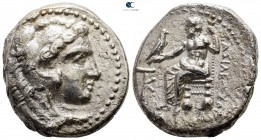 "Kings of Macedon. Kition. Alexander III ""the Great"" 336-323 BC. Struck under Pumiathon, circa 325-320 BC. Tetradrachm AR"