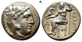 "Kings of Macedon. Sardeis. Alexander III ""the Great"" 336-323 BC. Struck circa 322-319 BC. Drachm AR"
