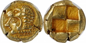 IONIA. Erythrai. EL Hekte (2.58 gms), ca. 550-500 B.C. NGC Ch AU★, Strike: 5/5 Surface: 5/5.