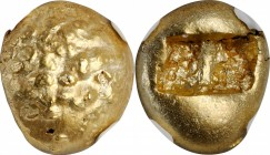 IONIA. Uncertain. EL 1/3 Stater (4.68 gms), ca. 650-600 B.C. NGC MS, Strike: 5/5 Surface: 4/5.