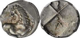 THRACE. Thracian Chersonesos. AR Hemidrachm, ca. 386-338 B.C. NGC EF.