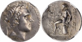 SYRIA. Seleukid Kingdom. Antiochos III (the Great), 223-187 B.C. AR Tetradrachm (16.86 gms), Uncertain Mint in Northern Mesopotamia, ca. 197-187 B.C. ...