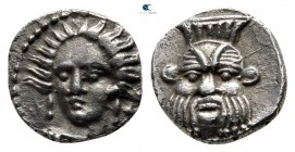 Cilicia. Uncertain mint circa 400-300 BC. Obol AR