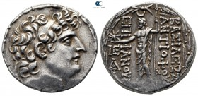 Seleukid Kingdom. Antioch on the Orontes. Antiochos VIII Epiphanes (Grypos) 121-97 BC. 1st reign at Antioch, circa 121/0-113 BC. Tetradrachm AR
