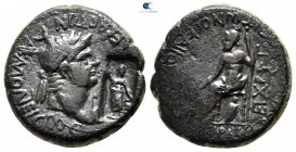 Phrygia. Akmoneia. Nero AD 54-68. ΣΕΡΟΥΗΝΙΟΣ ΚΑΠΙΤΩΝ & ΙΟΥΛΙΑ ΣΕΟΥΗΡΑ (Lucius Servenius Capito, archon for the third time, with his wife, Julia Severa...