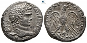 Seleucis and Pieria. Antioch. Caracalla AD 198-217. Struck circa AD 215-217. Billon-Tetradrachm