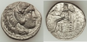 MACEDONIAN KINGDOM. Alexander III the Great (336-323 BC). AR tetradrachm (25mm, 16.27 gm, 10h). VF, porosity. Early posthumous issue of 'Babylon', ca....