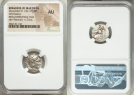 MACEDONIAN KINGDOM. Alexander III the Great (336-323 BC). AR drachm (17mm, 6h). NGC AU. Posthumous issue of Mylasa, ca. 310-300 BC. Head of Heracles r...