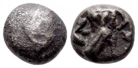 Attica, Attica, Athens AR. Circa 353-294 BC. AR , Uncleas / Owl standing r., head facing; olive sprig and crescent behind; all within incuse square.  ...