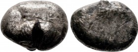 Cyprus, Salamis, Euelthon (c. 530/15-480 BC), Stater, Ram recumbent left / Blank. Asyut  Condition: Very Fine  Weight: 10.3 gr Diameter: 20 mm