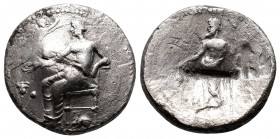 SIDE. Pamphylia. Ca.370-360 B.C. Stater.  Condition: Very Fine  Weight: 9 gr Diameter: 22 mm