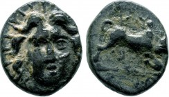 CARIA. Ae (Circa 167-100 BC).  Condition: Very Fine  Weight: 2.5 gr Diameter: 14 mm