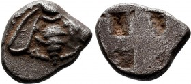 Ionia, Ephesos. AR Drachm c. 500-420 BC. Obv. Bee with curved wings; tendrils above. Rev. Quadripartite incuse square.   Condition: Very Fine  Weight:...