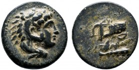 Kingdom of Macedon. Alexander III, the Great, c. 336-323 BC. AE   Condition: Very Fine  Weight: 1.2 gr  Diameter:10 mm