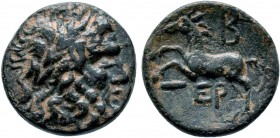 Pisidia, Termessos Æ28. 2nd Century BC.   Condition: Very Fine  Weight: 4.2 gr Diameter:16 mm