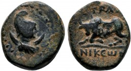 CARIA. Stratonikeia. Ae (Circa 2nd-1st centuries BC).  Condition: Very Fine  Weight: 4.7 gr Diameter: 15 mm