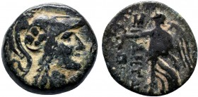 PAMPHYLIA. Side. Ae (3rd/2nd centuries BC).  Condition: Very Fine  Weight: 3.5 gr Diameter: 15 mm