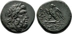PONTOS. Amisos. Ae (85-65 BC).   Condition: Very Fine  Weight: 8.3 gr Diameter:18 mm