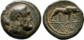 GALATIA, Kings of. Amyntas . 36-25 BC. Æ  Condition: Very Fine  Weight: 9.4 gr Diameter: 22 mm