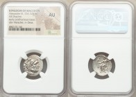 MACEDONIAN KINGDOM. Alexander III the Great (336-323 BC). AR drachm (19mm, 12h). NGC AU. Posthumous issue of Abydus, ca. 310-301 BC. Head of Heracles ...