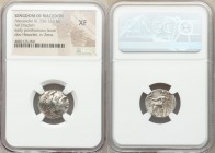 MACEDONIAN KINGDOM. Alexander III the Great (336-323 BC). AR drachm (17mm, 12h). NGC XF. Posthumous issue of Teos, ca. 310-301 BC. Head of Heracles ri...
