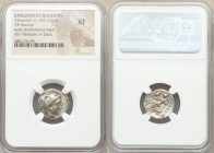 MACEDONIAN KINGDOM. Alexander III the Great (336-323 BC). AR drachm (18mm, 1h). NGC XF. Late lifetime-early posthumous issue of Sardes, ca. 323-319 BC...