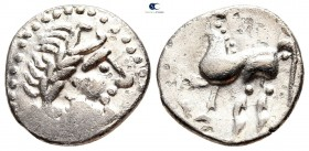 Eastern Europe. Imitation of Philip II of Macedon circa 300 BC. Drachm AR