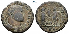 Eastern Europe. Imitating Licinius AD 30-330. Follis AE