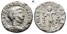 Eastern Europe. Imitating Gordianus III AD 240-250. Denarius AR