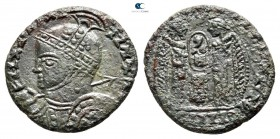 Eastern Europe. Imitating Constantine I Follis issue AD 330-360. Follis AE