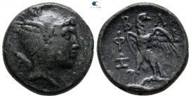 Kings of Macedon. Uncertain mint in Macedon. Philip V 221-179 BC. Bronze Æ