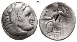 Kings of Macedon. Kolophon. Antigonos I Monophthalmos 320-301 BC. In the name and types of Alexander III. Drachm AR