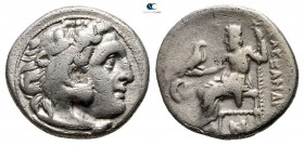 Kings of Macedon. Kolophon. Antigonos I Monophthalmos 320-301 BC. In the name and types of Alexander III of Macedon. Drachm AR