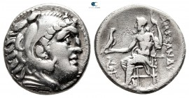Kings of Macedon. Teos. Antigonos I Monophthalmos 320-301 BC. In the name and types of Alexander III. Drachm AR